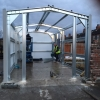 Steel Framed Garage