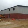 Industrial Unit with block work wall