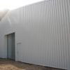 Steel Building Warehouse in Goosewing Grey